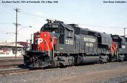SP GP40X 7201