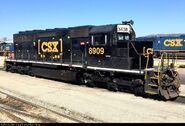 CSX (Ex NS-CR) SD40-2 8909 (3438)