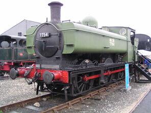GWR 5700 Class 7754 at York Railfest