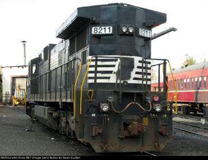 C39-8 Rear