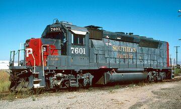 SP 7601 GP40P-2