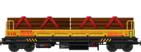 Railroad Tie Carrier