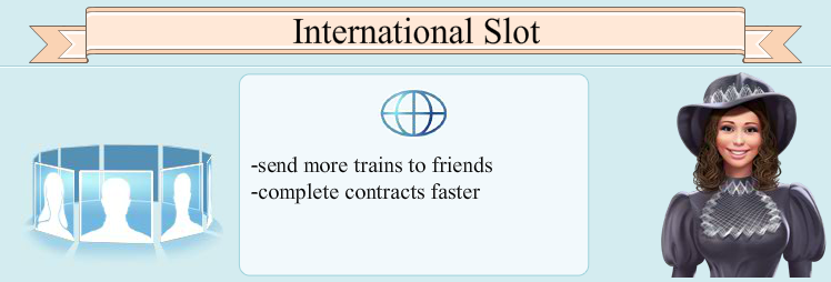 Aankoop van extra Internationaal Spoor