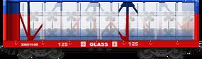 Glass I-Beam