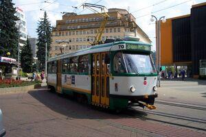 Liberec, Soukenné náměstí, tramvaj.jpg
