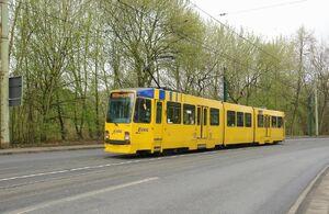 Abzweig Katernberg lijn107 M8C