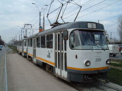 Bucharest Tatra tram 1