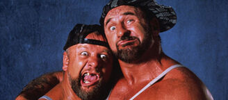 WWE The Bushwhackers