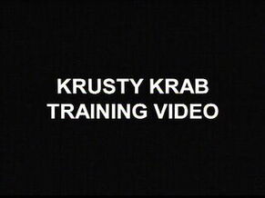 Krusty Krab Training Video
