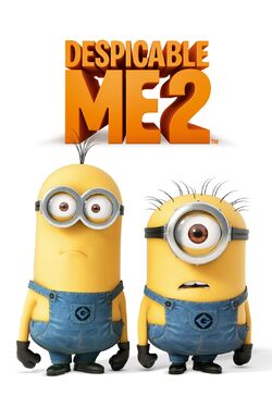 Universal's Despicable Me 2 - iTunes Movie Poster