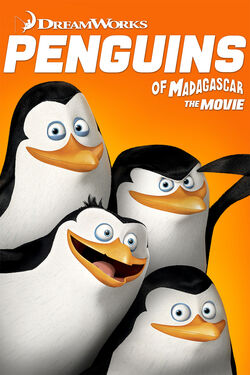 DreamWorks' The Penguins of Madagascar - iTunes Movie Poster