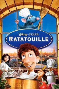 Disney and Pixar's Ratatouille - iTunes Movie Poster