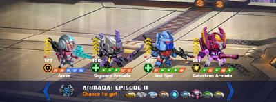T armada episode 2 x skywarp xx