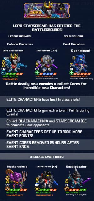 Event Lord Starscream