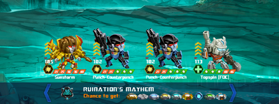 T ruinations mayhem xxx topspin