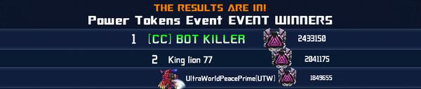 Event Transmetals 2 Episode 1 - Power Token Solo Winner