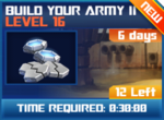 M wave8 lev16 build your army ii