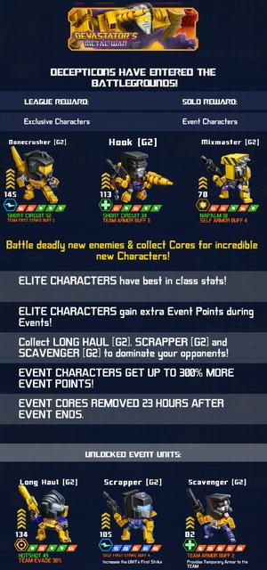 Event Devastators Metal War