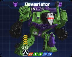 D E Com - Devastator pose