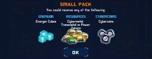 P supply run small pack optimus maximus awake help