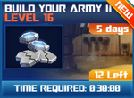 M wave5 lev16 build your army ii