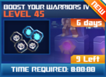 M wave7 lev45 boost your warriors iv