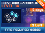 M wave5 lev34 boost your warriors iii