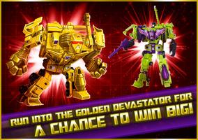 P golden devastators promotion