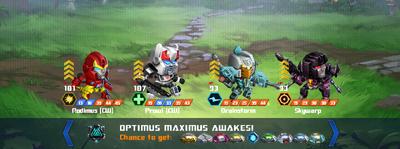 T optimus maximus awakes rodimus cw prowl cw xx