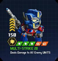 A E Sol - Optimus Prime Cybertron pose