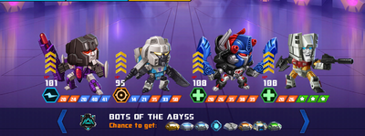 T bot of the abyss