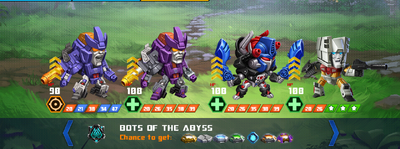T bots of the abyss galvatron