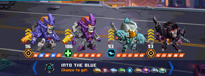 T into the blue galvatron