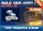 M wave3 lev15 build your army i