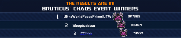 Event Bruticus Chaos - Solo Winner