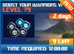 M wave6 lev79 boost your warriors vi