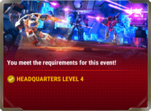 Ui event requirement a