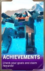 Ui menu achievements d