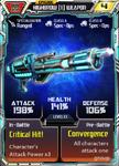 Highbrow (1) Weapon