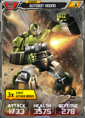 (Autobots) Autobot Hound - Robot (3) - Event