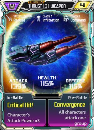 Thrust 3 Weapon
