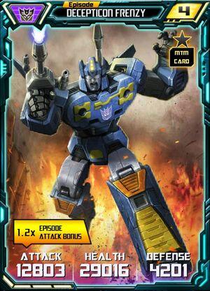 Decepticon Frenzy 1 Robot