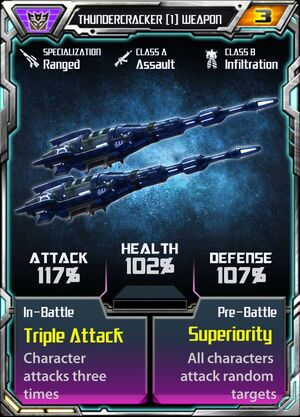 Thundercracker (1) Weapon