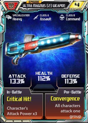 Ultra Magnus (2) Weapon