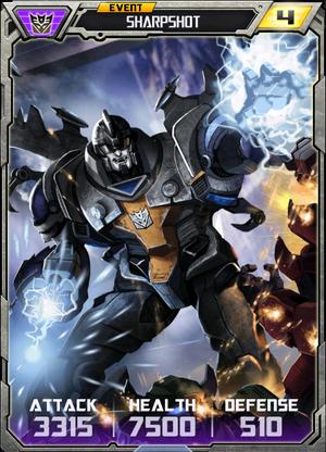(Decepticons) Sharpshot - Robot (4) - Event