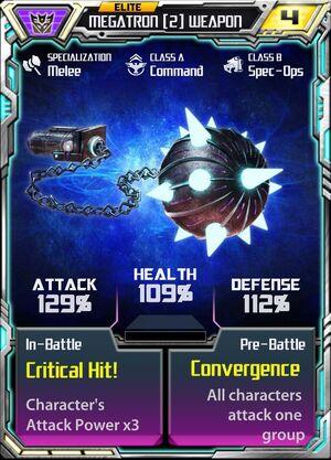 Megatron (2) Weapon