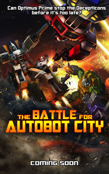 The Battle for Autobot City