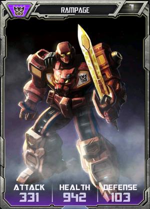 (Deceptions) Rampage - Robot