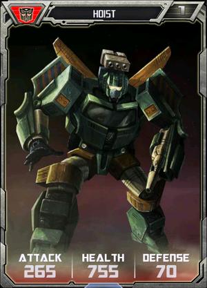 (Autobots) Hoist - Robot