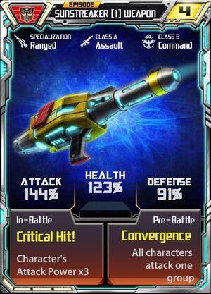 Sunstreaker (1) Weapon